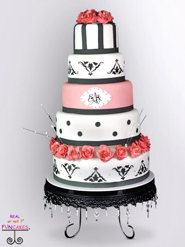 Blair Black Round Cake Stand