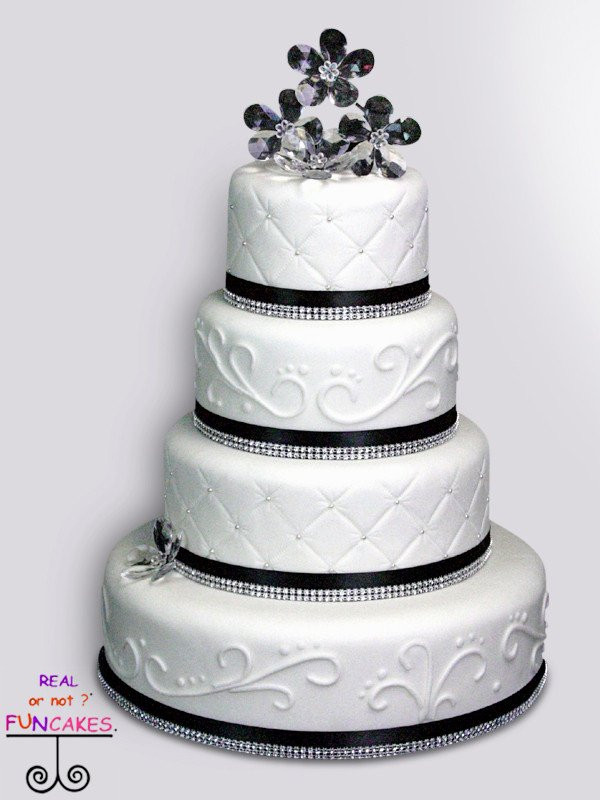 Wedding Cakes and Pricing • FunCakes Rental Cakes