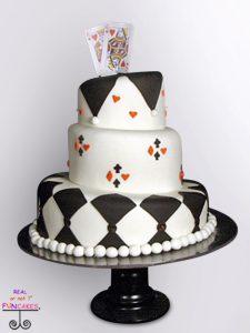 Classic Martha Round Black Cake Stand