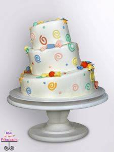 Classic Martha Round Cream Cake Stand