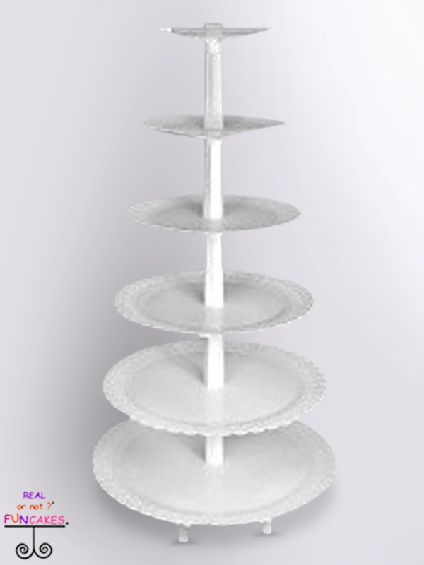 Fae Tiered Cupcake Stand O FunCakes Rental Cakes