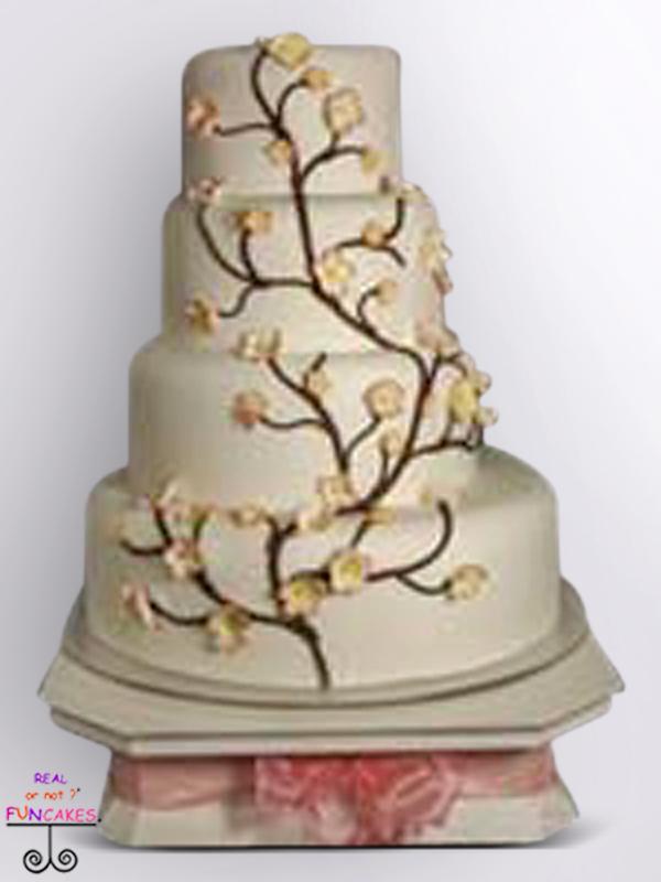 Jade Cake Stand with Cake