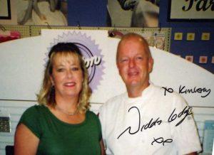 Kimberly with Nicholas Lodge