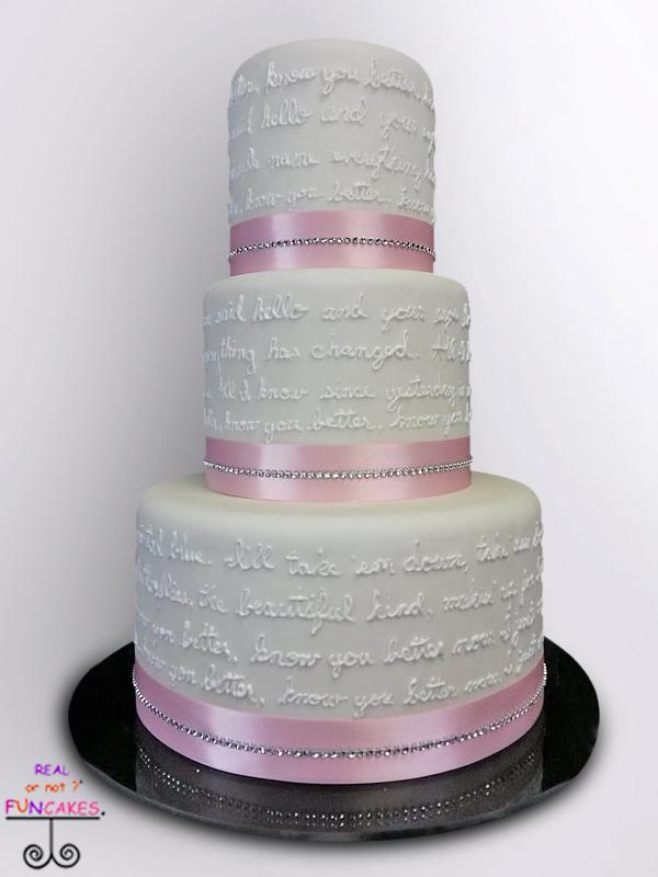 The Lyric Cake