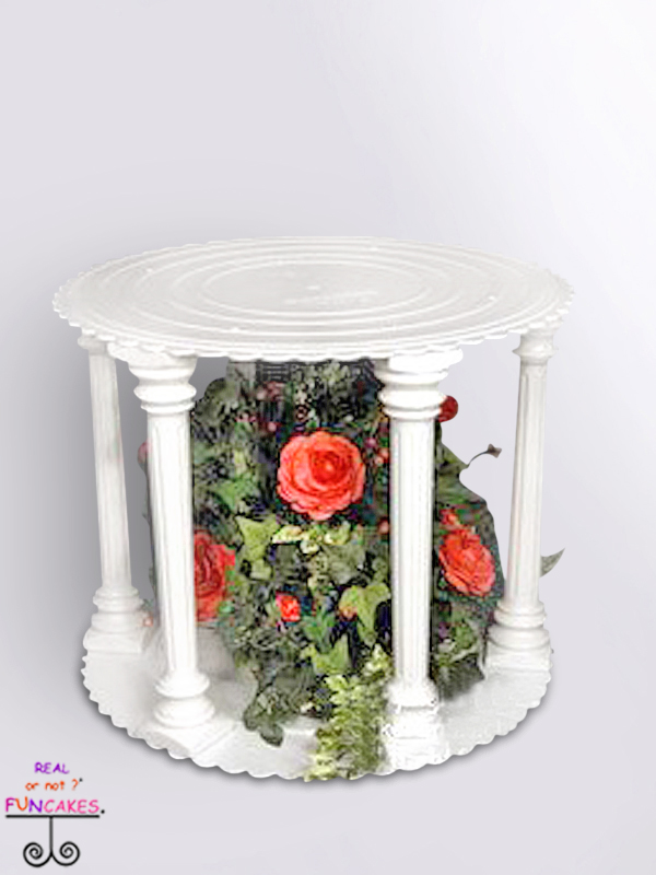 Roman Column Cake Stand