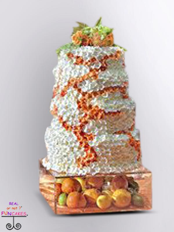 Sage Cake Stand