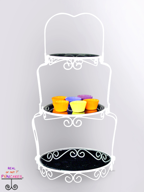 Sara Three Tier Dessert Stand