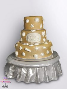 Silver Tuffet Cake Stand